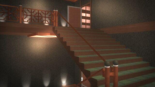 File:Tohoku Towers - top floor stairs.jpg