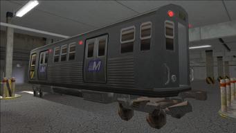 Saints Row variants - El Train - El Train Front - rear left