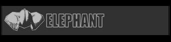 Elephant logo - Bulldozer