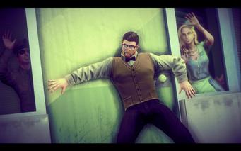 A Pleasant Day - glitch mob behind door
