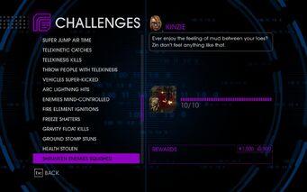 Challenge 44 Shrunken Enemies Squished