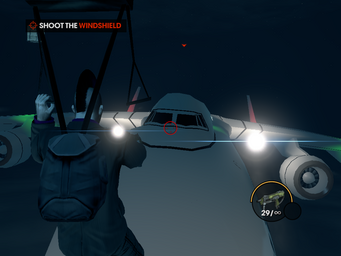 Gawalek A36 - Shoot the Windshield objective
