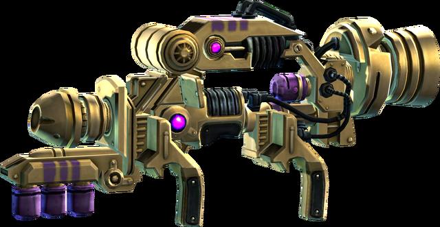 File:SRIV Explosives - Alien RPG - Tyrant - Gold-Plated.png