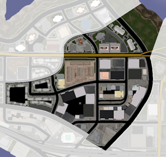 High End Retail map in Saints Row
