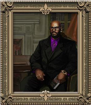 Benjamin King cabinet portrait