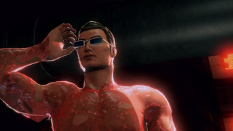 Gat is Back trailer - naked with glasses