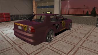 Saints Row variants - Taxi - BigWilly B - rear right