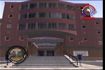 Stilwater Memorial Hospital exterior entrance