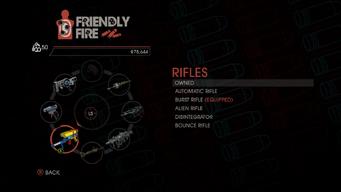 Weapon - Rifles - Menu