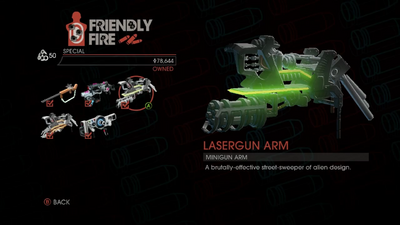 Weapon - Special - Lasergun Arm - Main