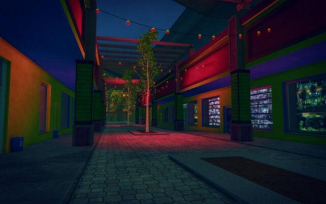 File:Ezpata in Saints Row 2 - street at night.jpg