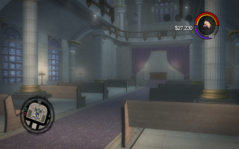 Saints Row Church - lower level in Saints Row 2