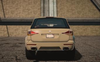 Saints Row IV variants - Atlantica Average - rear