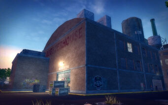 The Mills in Saints Row 2 - Slaughterhouse