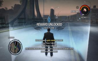 Race Plane unlocked SR2