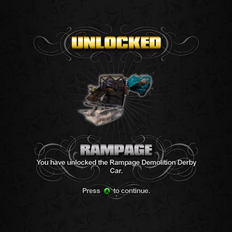Saints Row unlockable - Vehicles - Rampage