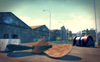Stoughton in Saints Row 2 - large propeller