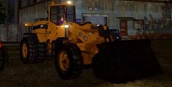 File:Bulldozer with lights - front right in Saints Row.jpg