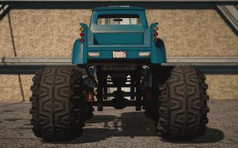 Saints Row IV variants - Betsy XL Average - rear