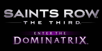 Saints Row The Third Enter the Dominatrix logo