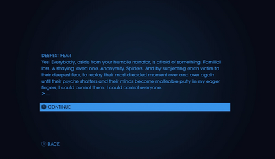 Text Adventures - My Defining Moment - Deepest Fear