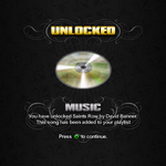 Saints Row unlockable - Music - Saints Row