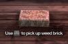 Improvised Weapon - weed brick