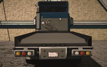 Saints Row IV variants - Flatbed Flatbed - rear