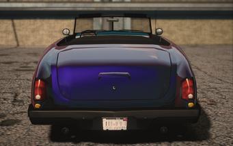 Saints Row IV variants - Gunslinger Mascot - rear