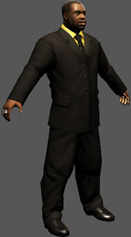Saints Row character render - Ben King's body