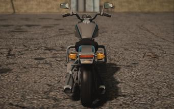 Saints Row IV variants - Estrada Police - rear