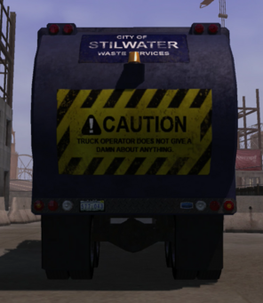 Stilwater Municipal - rear in Saints Row