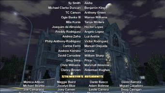 Saints Row credits screen 2