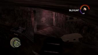 Cemetery Sex Cavern - interior entrance under crypt