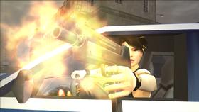 Guardian Angel - Lin firing