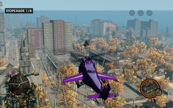 Heli Assault Enemy Tornado in Saints Row The Third