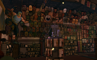 Let's Pretend - interior heads in Saints Row The Third