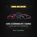 Saints Row unlockable - Vehicles - Los Carnales Cars - Eiswolf, Bulldog, Gunslinger