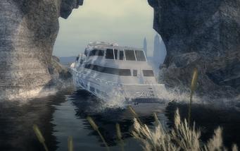 Super Secret Area - Skipper stuck in arch