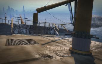 Shipwreck Cove - main deck