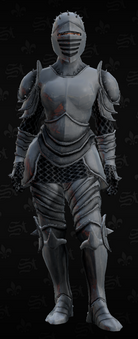 SRTT Outfit - knight (female)