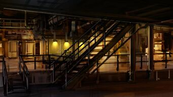 Saints Row Industrial Map - Interior Concept Art