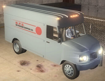 Delivery Truck - B.P.S. - front right in Saints Row 2