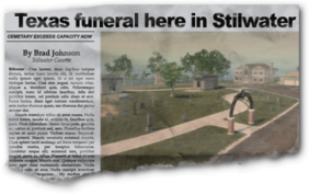 Newspaper rn09 Rest in Peace