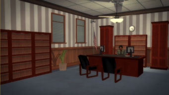 Stilwater Courthouse - dead end office