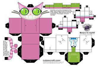 Professor Genki papercraft
