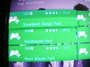 Saints Row The Third DLC photo of Steelport Gangs, Penthouse, and Nyte Blayde Packs
