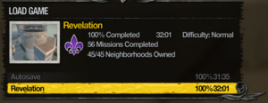 100% Completion in Saints Row 2