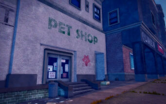 Poseidon Alley in Saints Row 2 - Pet Shop