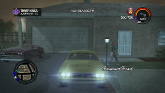 Hammerhead - front with lights in Saints Row 2